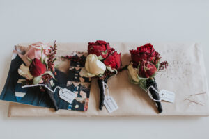 Briony and Andrew Wedding Flower Bouquets