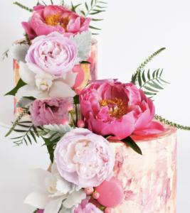 Cake Ink Wedding Cakes Watercolour