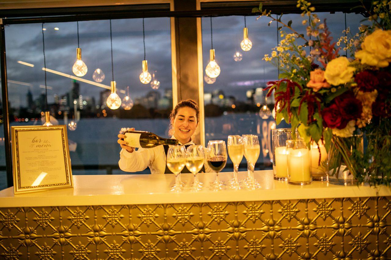 wedding reception drinks catering
