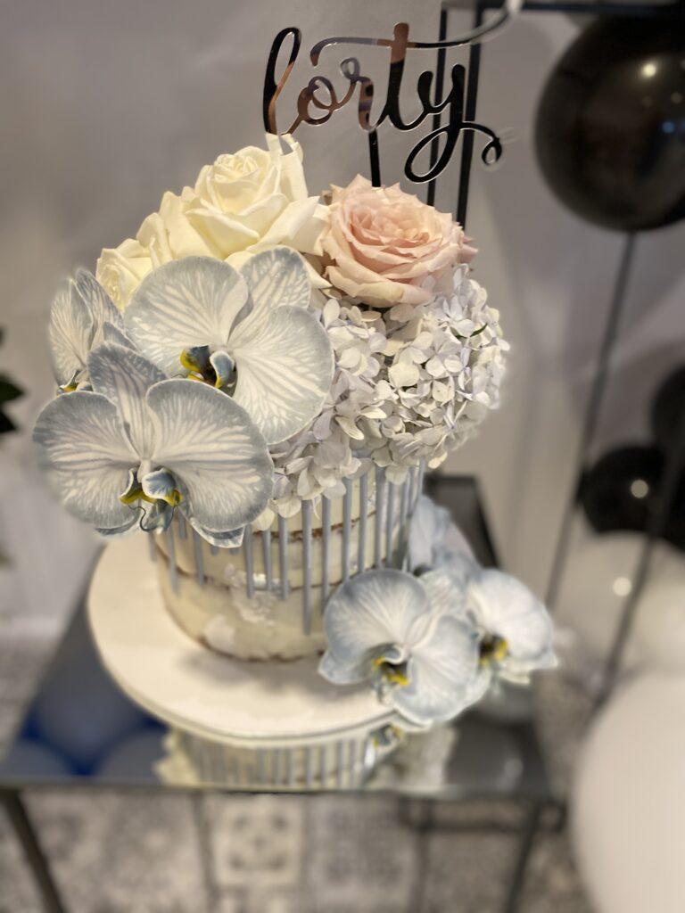 Laura's 40th birthday cake