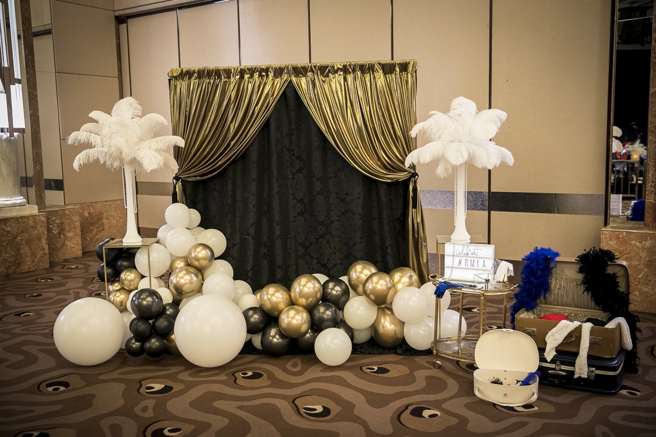 RMIA corporate event photo booth