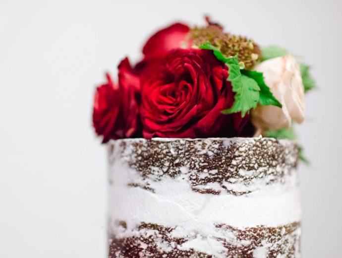 Briony and Andrew Wedding Cake