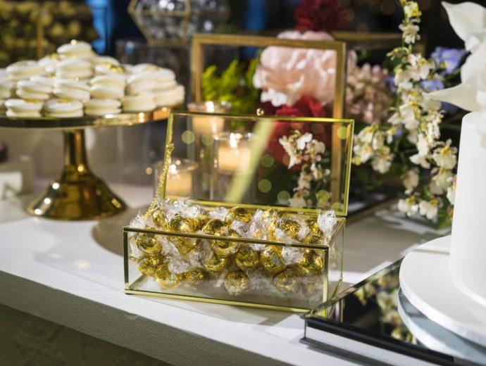 wedding catering chocolates